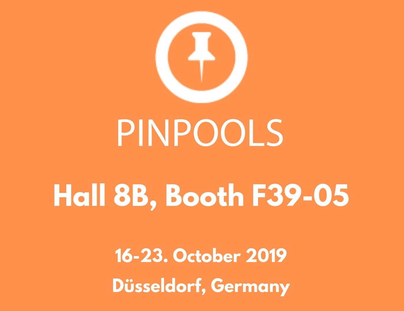 PINPOOLS in K2019 Fair