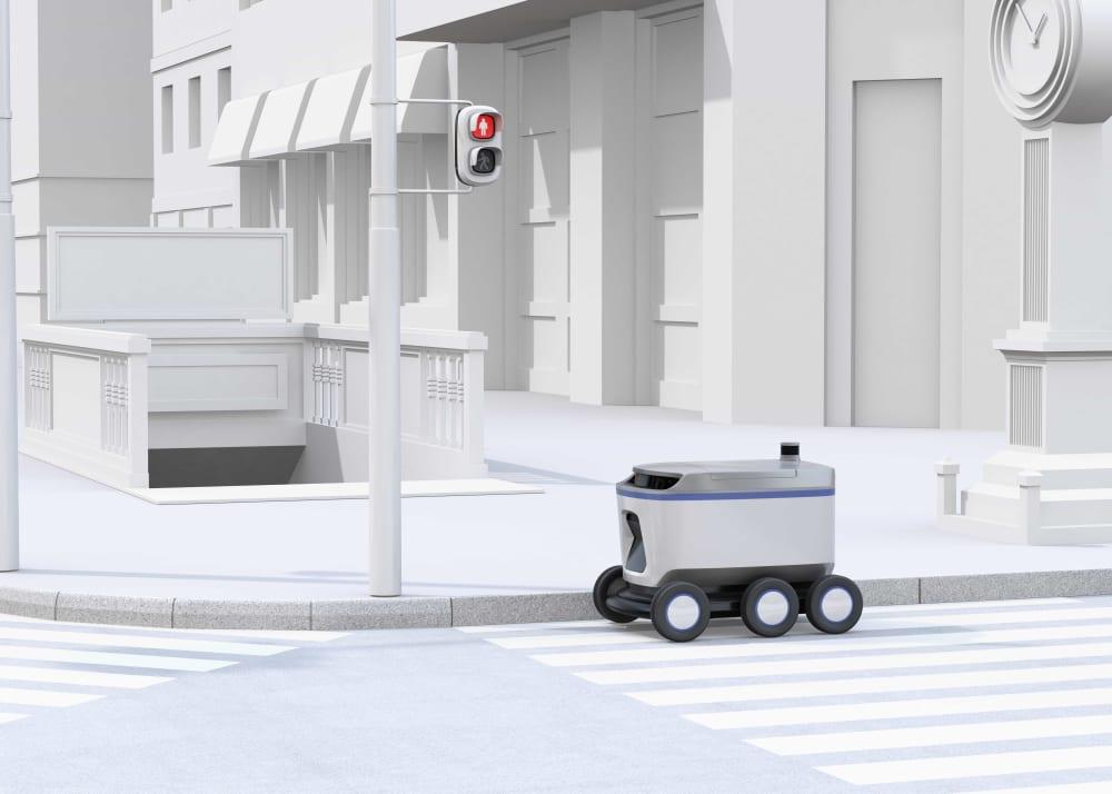 配送ロボット