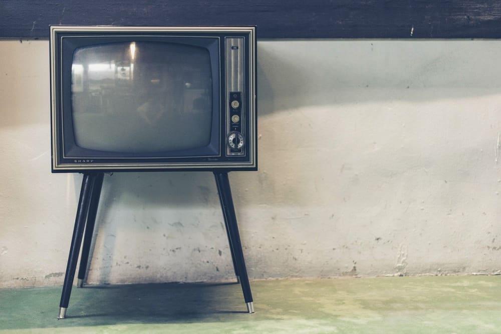 古いテレビのイメージ