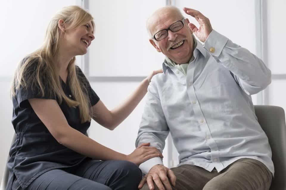 要介護者のストレスを軽減できる