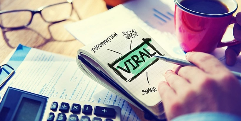 viral-marketing for review software companies