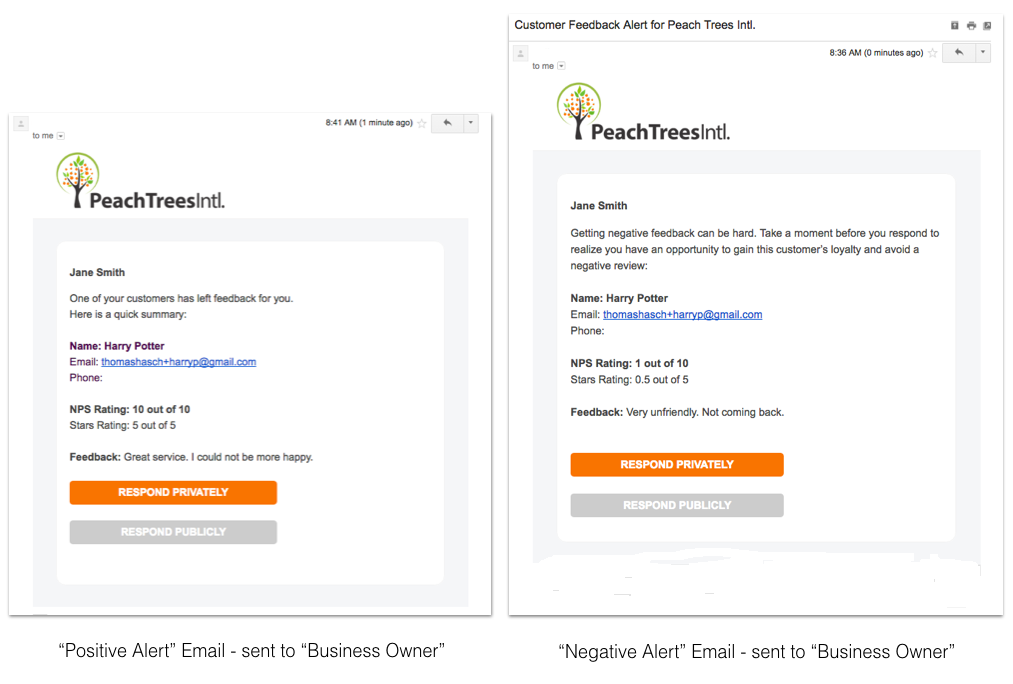 pivotfivestars-alert-emails-business-owner