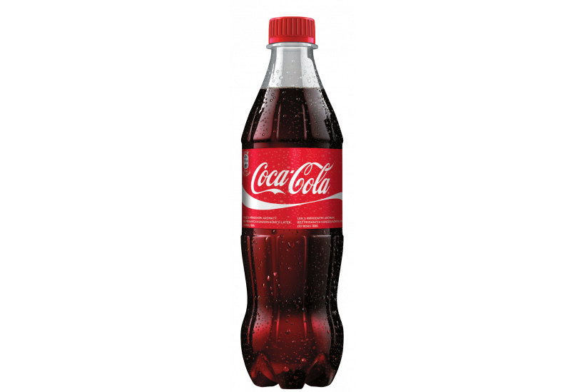 COCA-COLA plast 0,5l