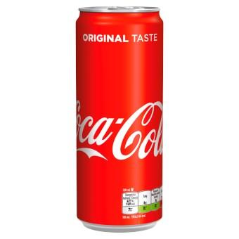 COCA-COLA plech 0,2l