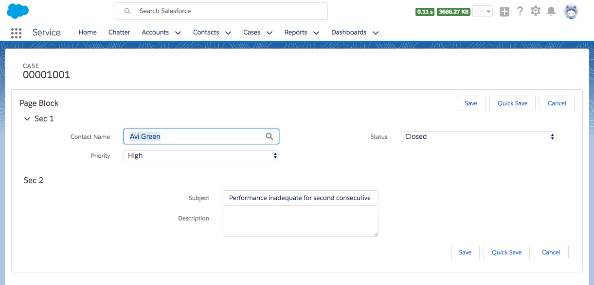 Visualforce page in Lightning Experience