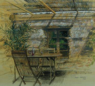 Port Appin Studio textile art: La Rocheuse