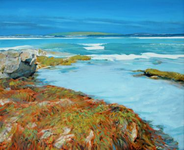 Port Appin Studio textile art: Clachan Sands, North Uist