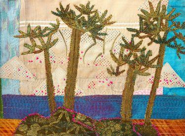Port Appin Studio textile art: Herradura, Andalucia