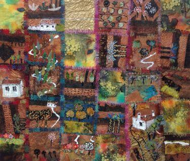 Port Appin Studio textile art: Andalucia