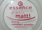 Review: polvos traslúcidos All about Matt, de Essence
