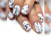 Tendencia: uñas de mármol