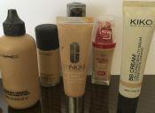 ¿Qué tan aceitosas son tus bases de maquillaje?