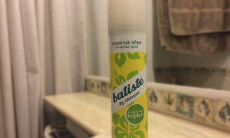 Review shampoo en seco Batiste