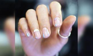 Tendencia: uñas semi transparentes