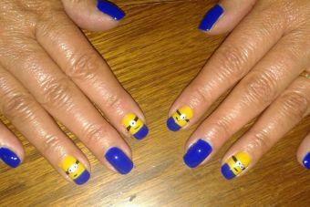 Tutorial Paso a Paso: Nail Art Minions