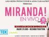 Miranda 15 Años en Vivo, Rancagua
