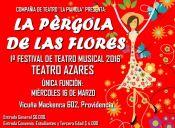 La Pérgola de las Flores en Teatro Azares