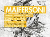Maifersoni en Sala SCD de Bellavista