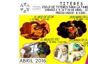 Ciclo de Titeres para la Familia en Teatro Azares