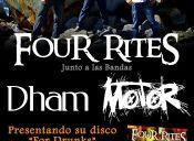 Four Rites, Motor y Dham en Bar Oxido