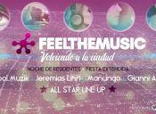 Fiesta Feel The Music en Teatro Caupolicán