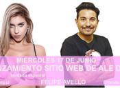 Lanzamiento Sitio Web de Alejandra Diaz + Show de Felipe Avello