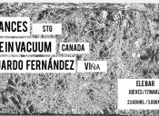 Life in Vacuum, Chances y Eduardo Fernandez en Ele Bar