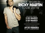Ricky Martin One World Tour 2016