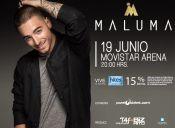 Maluma en Movistar Arena