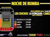 Noche de Rumba Presenta a Camela, Los Chichos y La Húngara