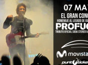 Profugos Tributo Soda Stereo en Movistar Arena