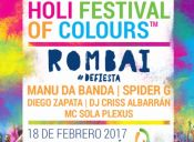 HOLI FESTIVAL OF COLOURS 2017, Pucón