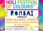 HOLI FESTIVAL OF COLOURS 2017, Pucón