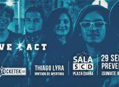 Algo Bueno Pal' Corazón LIVE ACT @SalaSCD Plaza Egaña