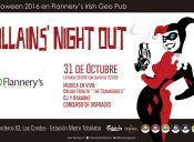 Halloween Villains Night Out / Halloween Flannery´s Irish Geo Pub - 31/10/2016
