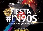 Fiesta #LV90s en Teatro Caupolicán