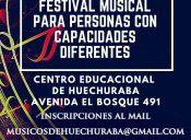 Primer  Festival Musical para personas con Capacidades Diferentes