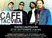 Café Tacuba en Chile: Santiago, Concepción y Puerto Montt