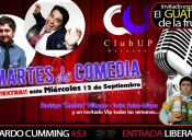 MIERCOLES DE COMEDIA EN CLUB UP