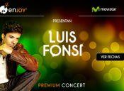 """Luis Fonsi vuelve a Chile para encantar con su nuevo disco """"Tierra Firme"""" en Enjoy"""