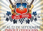 Fonda La Cumbre del Rock Chileno en Parque O´Higgins