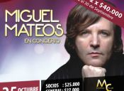 Miguel Mateos en Casino Marina del Sol