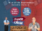Fondas en Calera de Tango - 16 al 21 de Septiembre