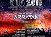Año Nuevo 2015 en Arrayán – mirador cultural, Valparaíso