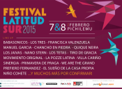 Festival Latitud Sur 2015, Pichilemu / *EVENTO SUSPENDIDO