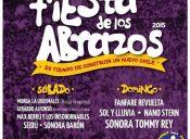 Fiesta de los Abrazos 2015 en Parque O´Higgins
