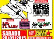Tocata Hardcore Punk en Arena Recoleta