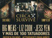 EXPO TATTOO anuncia a: Tommy Helm, Chris Nuñez, Jess Yen y la banda Circa Survive