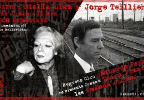 Tributo a Stella Díaz Varín y Jorge Teillier en El Mesón Nerudiano