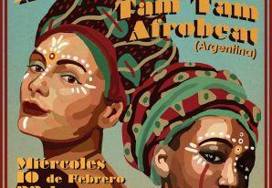 Newen Afrobeat y Tam Tam Afrobeat en Maestra Vida